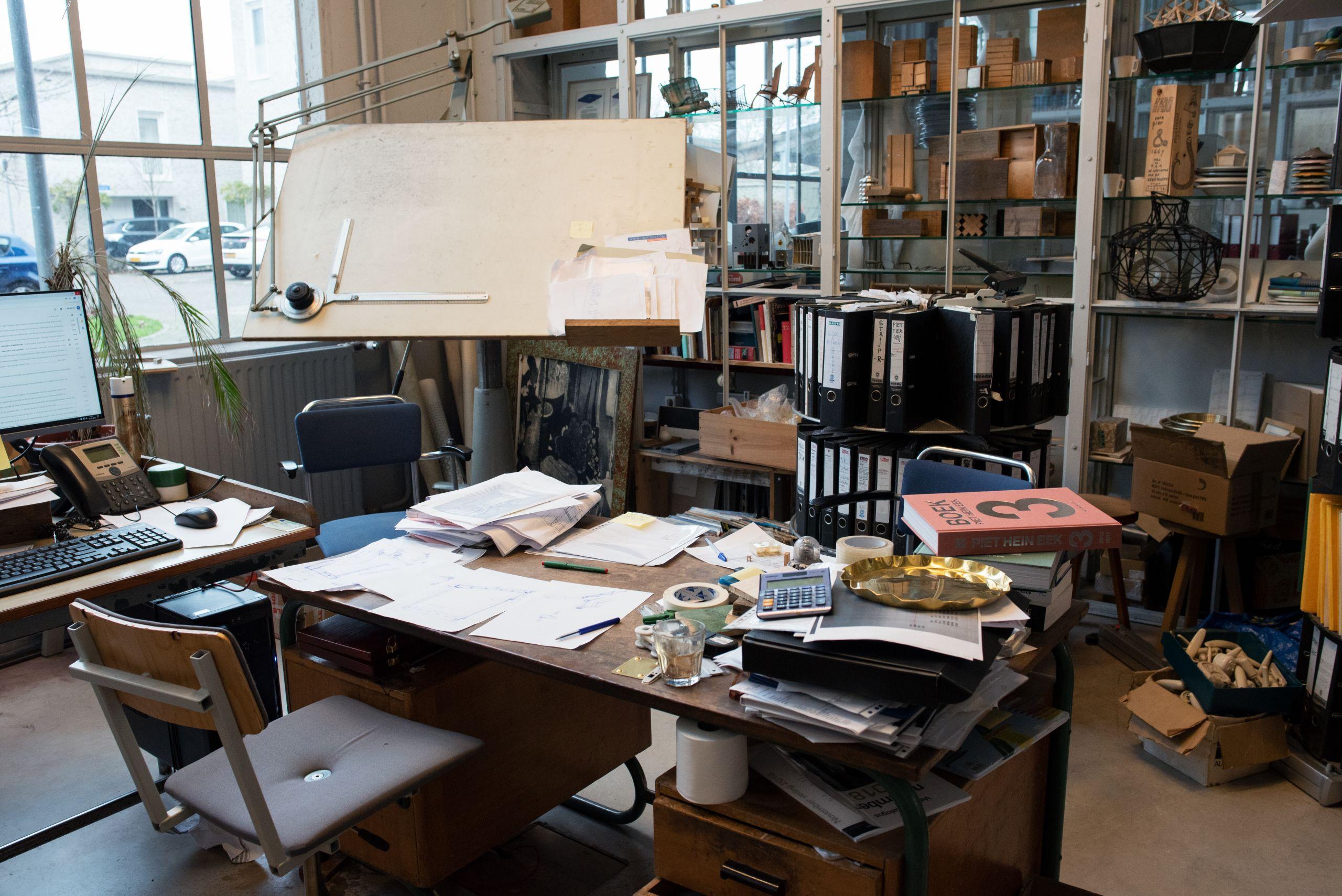 De Werkplek Van Topontwerper Piet Hein Eek
